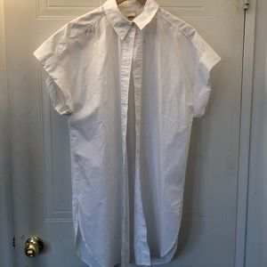 H&M NWT Oversized Cotton Shirt